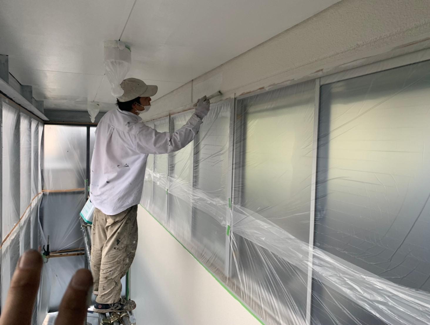 202107089916事務所階段室塗装 10
